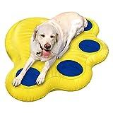 SUMER Doggy Lazy Raft, pannensichere Vinyl-Hundepose, perfekt für den See, den Pool, den Fluss und das Boot - 55'groß