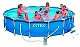Intex Metal Frame Aufstellpool mit Pumpe