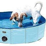 Doggy-Pool Planschbecken für Hunde Swimmig Pool Der Hundepool in Blau hat einen Durchmesser von 120 cm