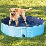 [mia.home]Doggy Pool Hundepool Swimmingpool für Hunde 80/120/160 CM (160x30cm)