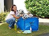 Karlie Doggy Shower für große Hunde, 100 x 61,6 cm x 50 cm, blau