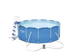 Bestway Frame Pool Steel Pro Set als Hundepool XXL